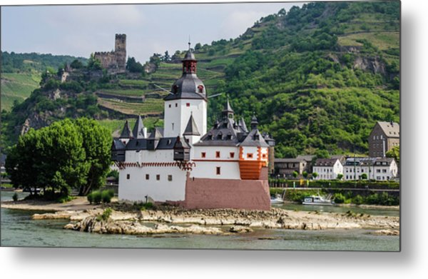 Pfalzgrafenstein Castle Metal Print