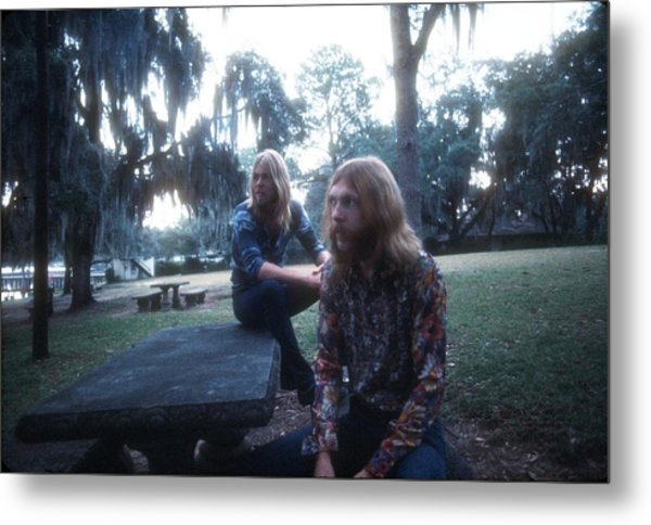 Photo Of Allman Brothers Metal Print