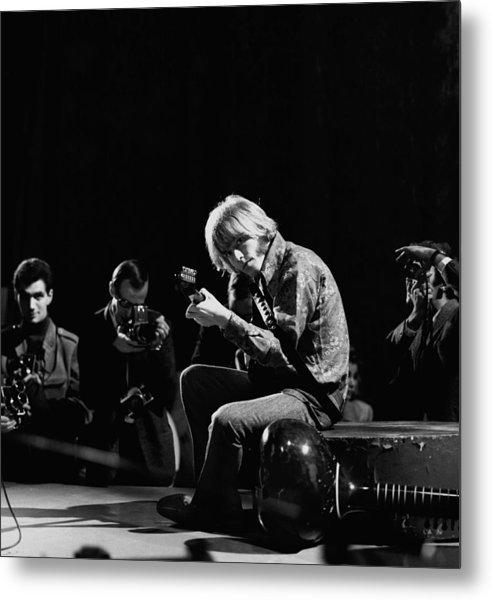 Photo Of Brian Jones And Rolling Stones Metal Print by David Redfern