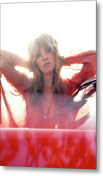 Photo Of Fleetwood Mac And Stevie Nicks Metal Print