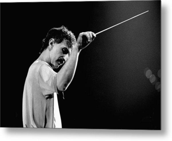 Photo Of Frank Zappa Metal Print