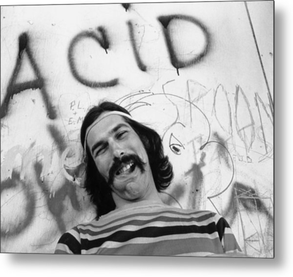 Photo Of Grateful Dead Metal Print by Michael Ochs Archives