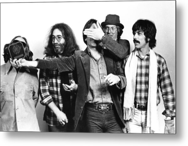 Photo Of Grateful Dead Metal Print