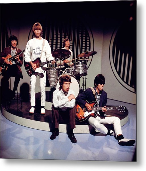 Photo Of Rolling Stones Metal Print by David Redfern