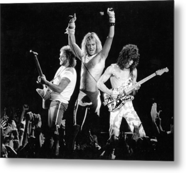 Photo Of Van Halen Metal Print