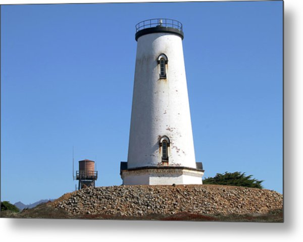 Piedras Blancas Light Station Metal Print