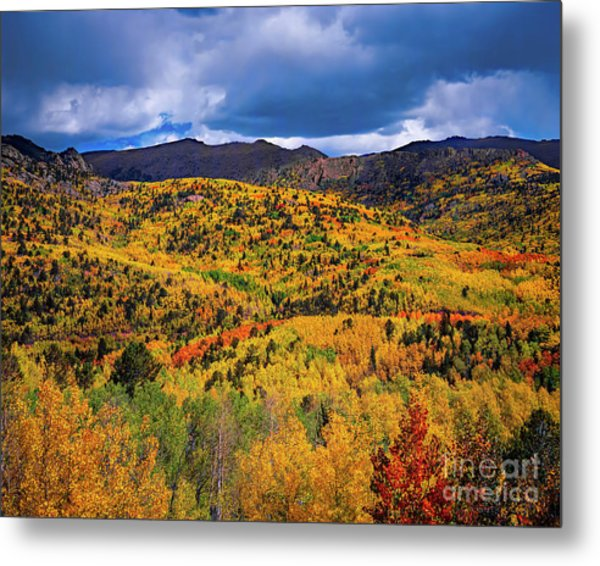 Pikes Peak Autumn Metal Print