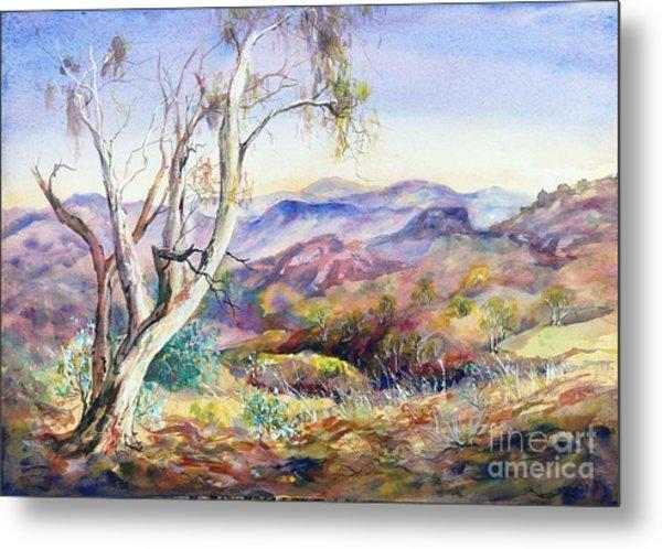 Pilbara, Hamersley Range, Western Australia. Metal Print