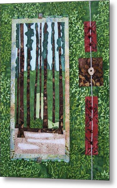 Pine Forest Tall Metal Print