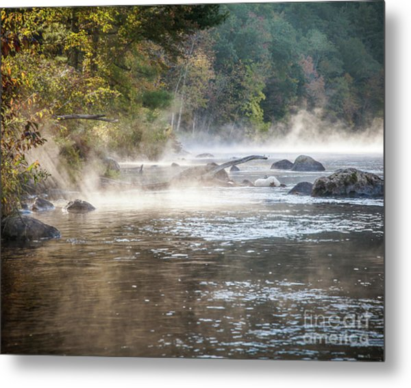 Pipeline Pool  Metal Print