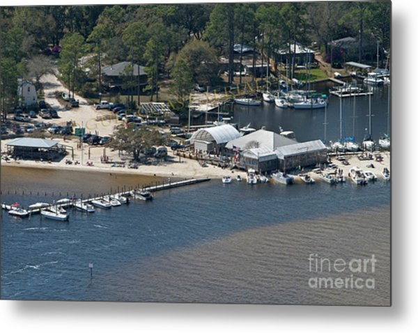 Pirates Cove - Natural Metal Print