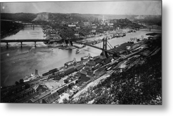 Pittsburgh, Pennsylvania Metal Print by Fotosearch