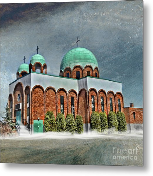 Place Of Worship Metal Print