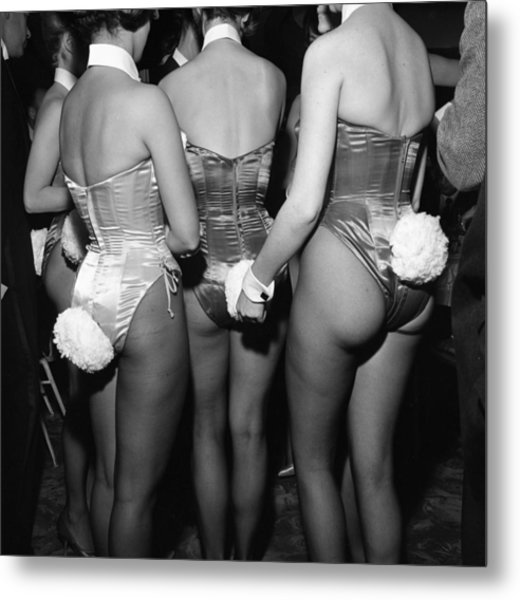 Playboy Club Party In Ny Metal Print