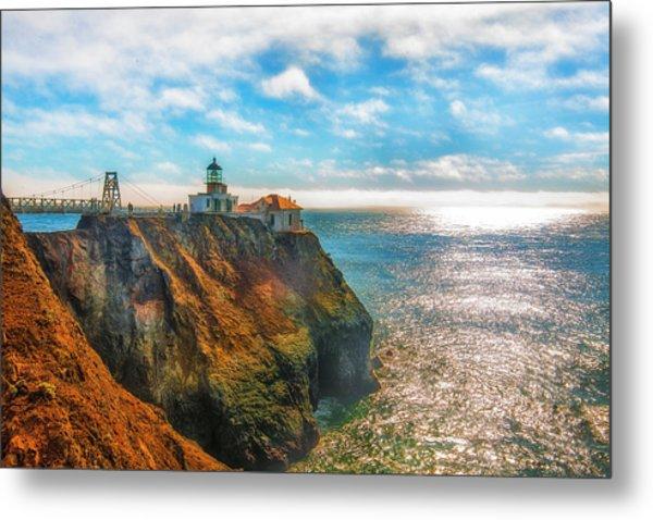 Point Bonita Lighthouse Metal Print by Fernando Margolles