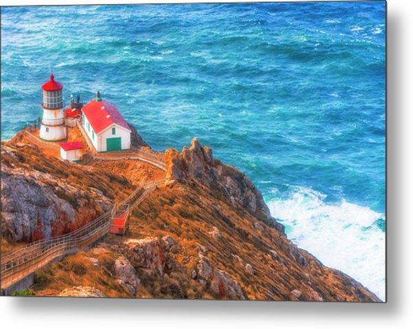Point Reyes Lighthouse Metal Print by Fernando Margolles