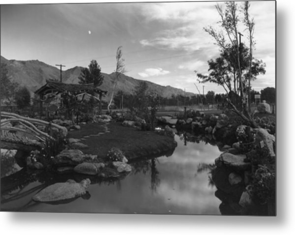 Pool In Pleasure Park Metal Print by Buyenlarge