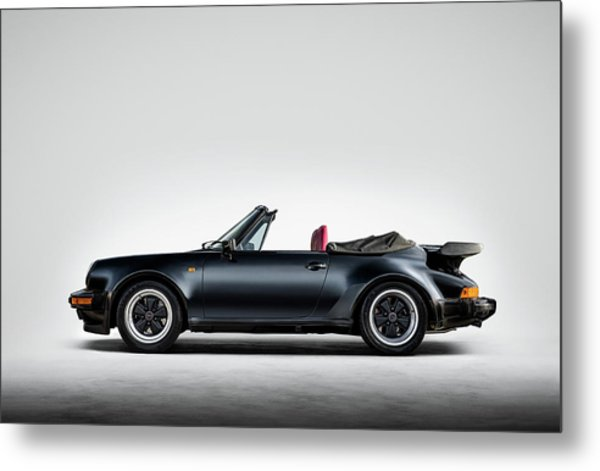Porsche 911 Cabrio Metal Print
