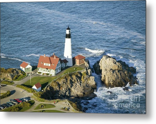 Portland Head Lighthouse, Cape Metal Print