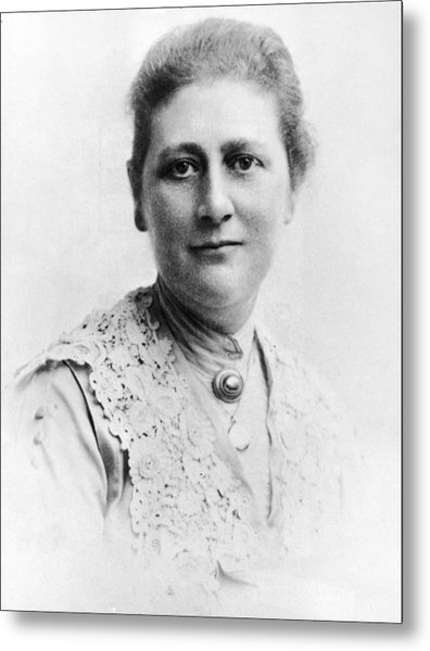 Portrait Of Author Beatrix Potter Metal Print by Express Newspapers