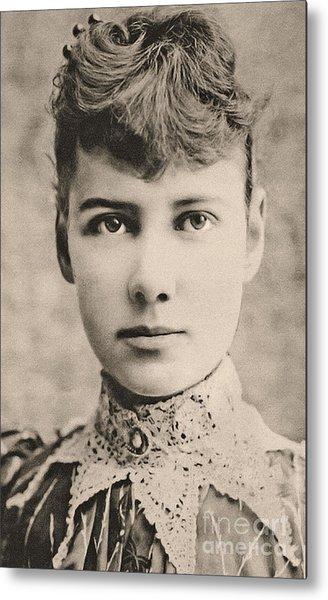 Portrait Of Nellie Bly, Circa 1890 Metal Print