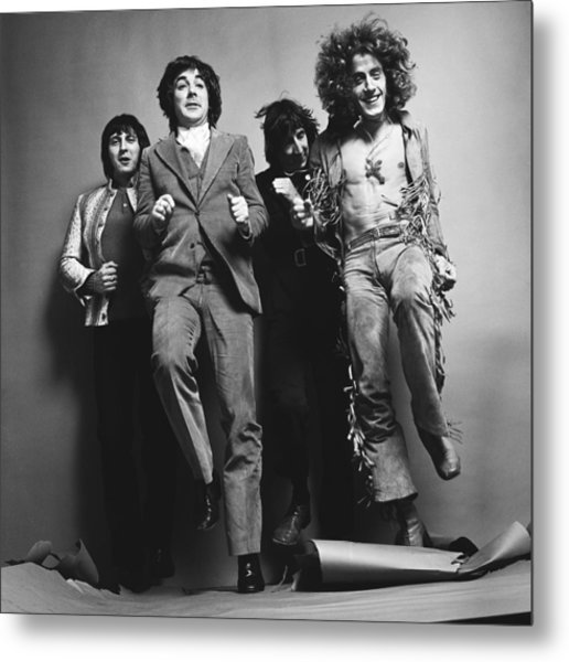 Portrait Of The Who Metal Print by Jack Robinson