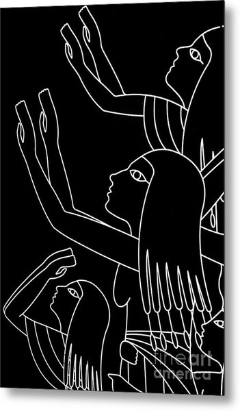Metal Print featuring the photograph Prayer To The Gods by Sue Harper
