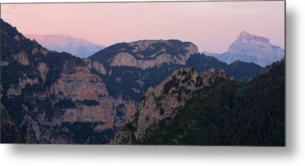 Metal Print featuring the photograph Pre Pyrenees Sunset by Stephen Taylor