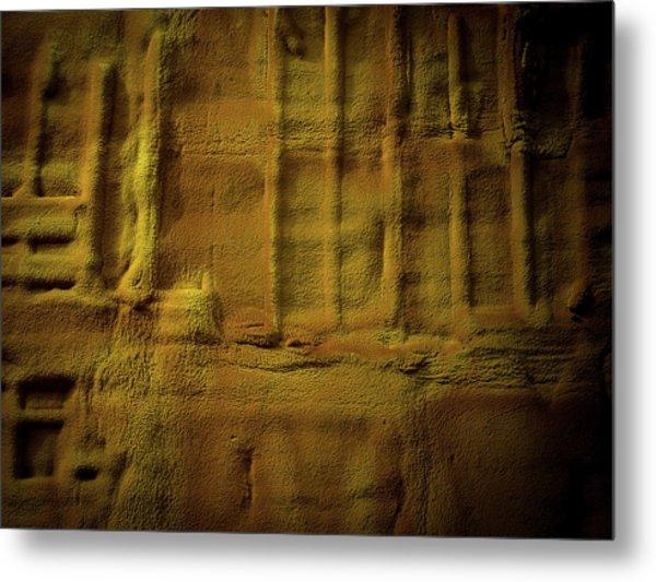 Prehistoric Scene Metal Print