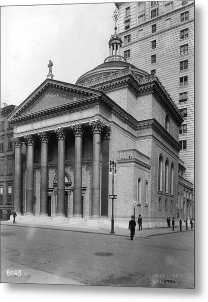 Presbyterian Church Metal Print by Hulton Archive