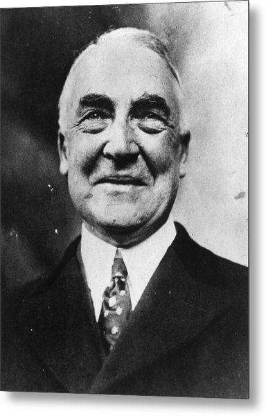 President Harding Metal Print by Topical Press Agency