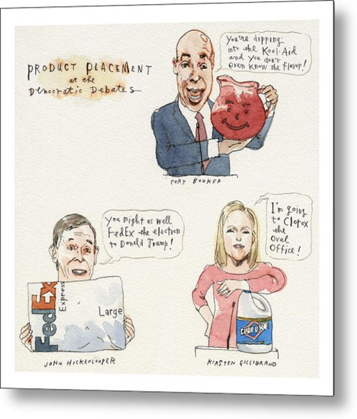 Product Placement Metal Print by Barry Blitt
