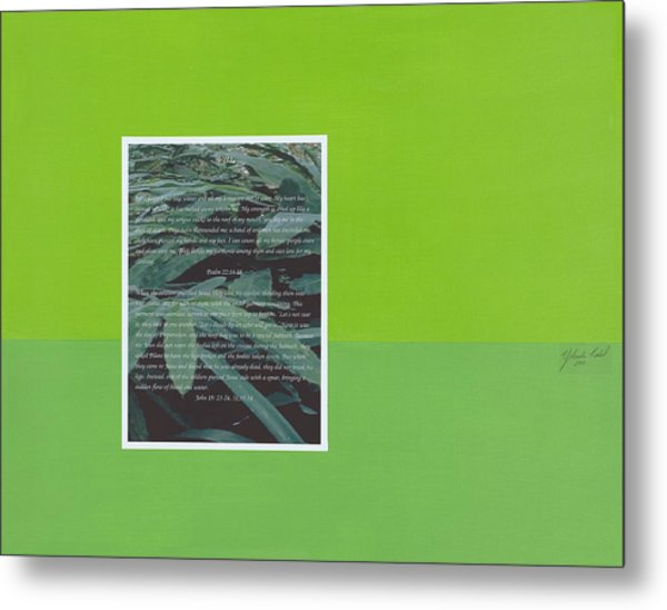 Prophesy And Facts Viii Metal Print