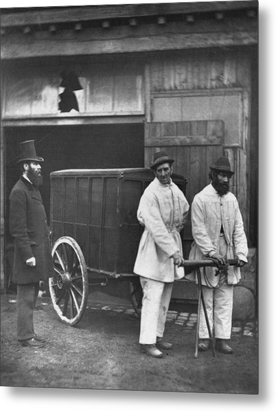 Public Disinfectors Metal Print by John Thomson