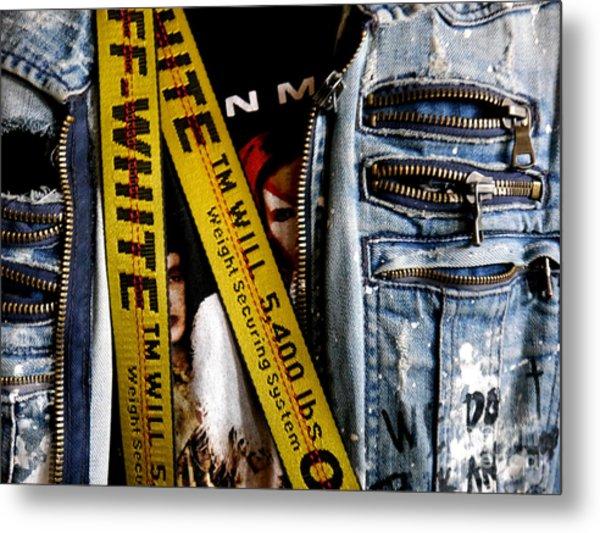 Punk Jacket /  Metal Print