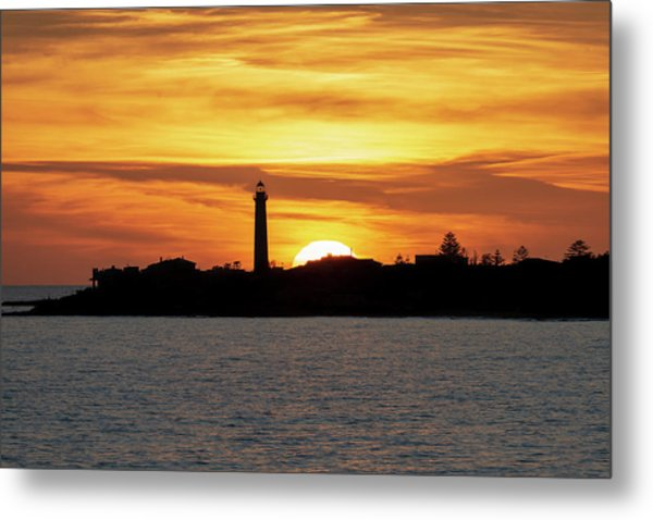 Metal Print featuring the photograph Punta Secca by Mirko Chessari