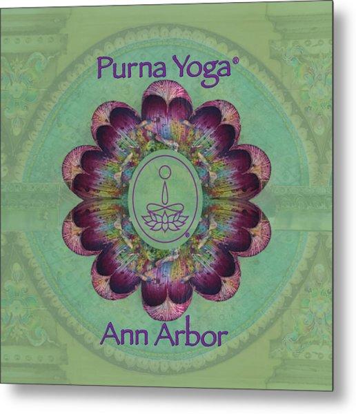 Purna Yoga Ann Arbor Metal Print