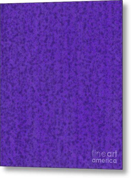 Purple Passion Metal Print