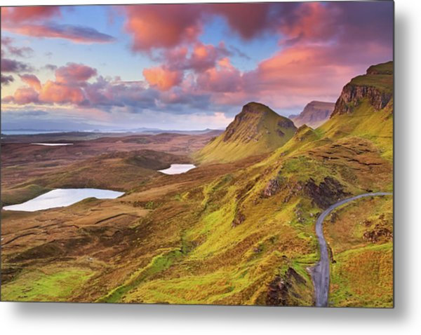 Quiraing View Metal Print by By Michael Breitung Photography -> Www.mibreit-photo.com