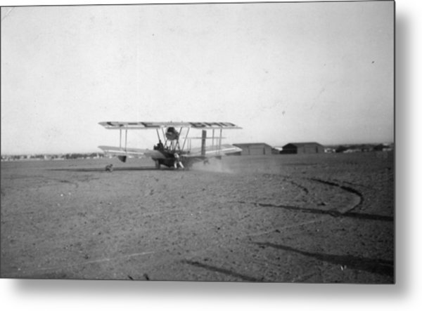 Raf Round-the-world Flight Metal Print by General Photographic Agency
