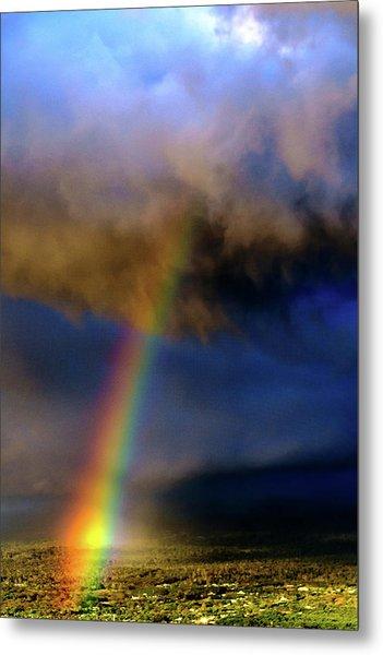 Rainbow During Sunset Metal Print