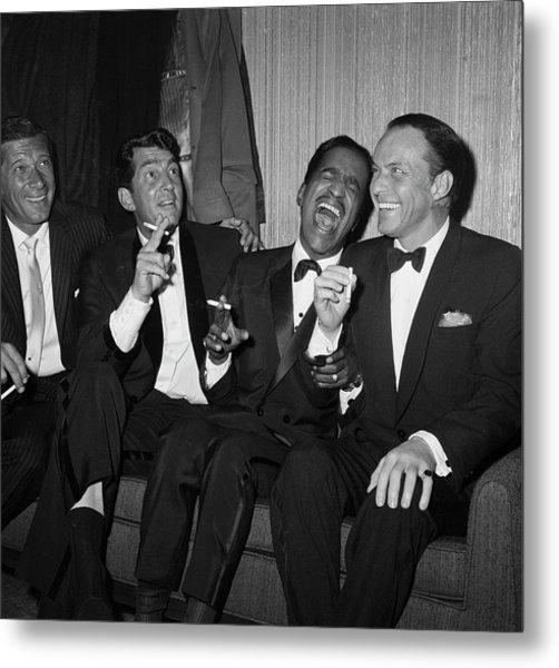 Rat Pack At Carnegie Hall Metal Print