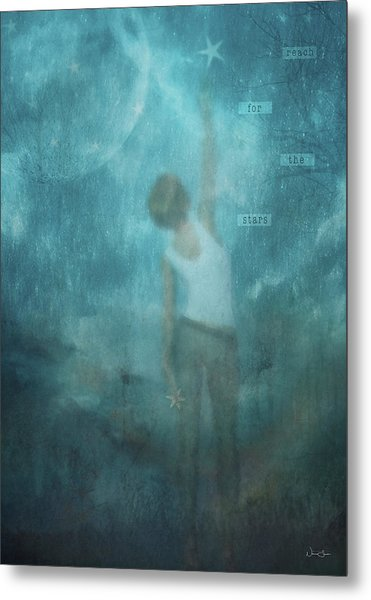 Reach For The Stars Metal Print by Norma Slack