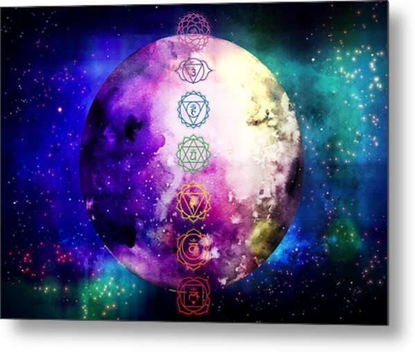 Metal Print featuring the digital art Reach Out To The Stars by Bee-Bee Deigner
