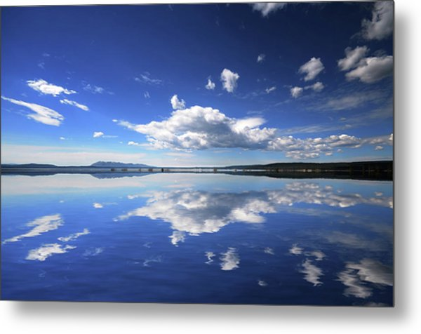 Real Illusions Reflections Metal Print by Philippe Sainte-laudy Photography