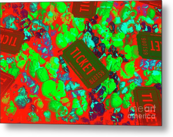 Red Hot Tickets Metal Print