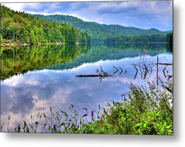 Metal Print featuring the photograph Reflections On Sis Lake by David Patterson