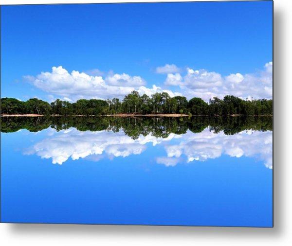 Reflective Lake Patricia Metal Print