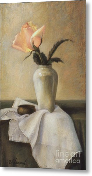 Remembered Rose Metal Print by Pat Thompson