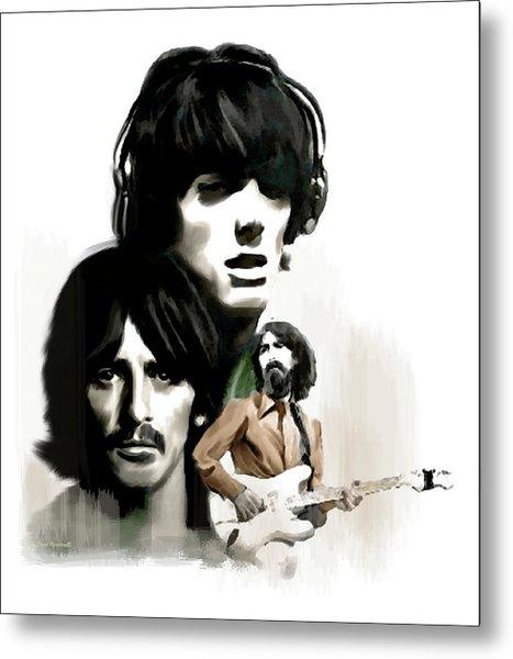 Requiem II George Harrison Metal Print